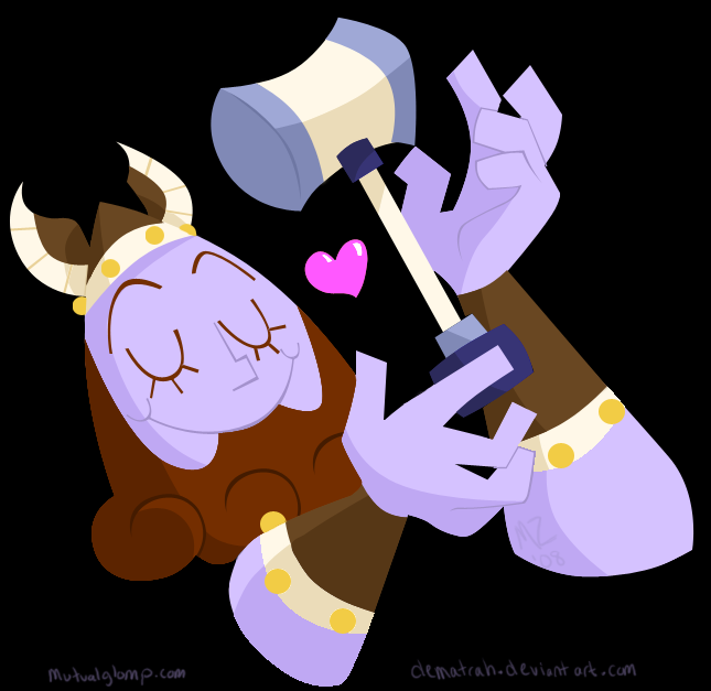 Thor -heart- Mjollnir BFFS by Dematrah
