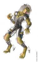 Selene werewolf transform 8
