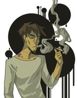 [Extreme Ghostbusters] smoke by A-nyu-sama