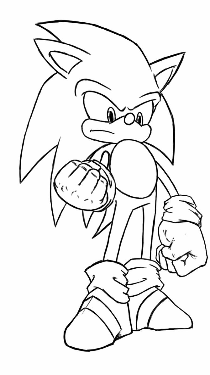 sonic sketch by fwrussell