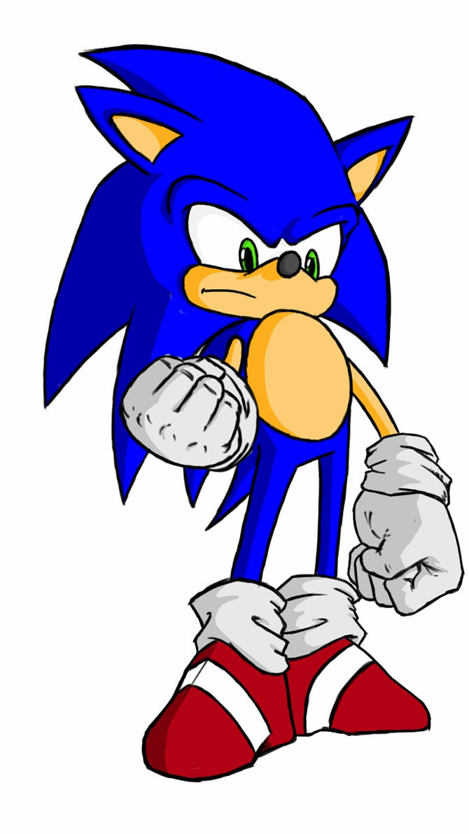 sonic in color by fwrussell