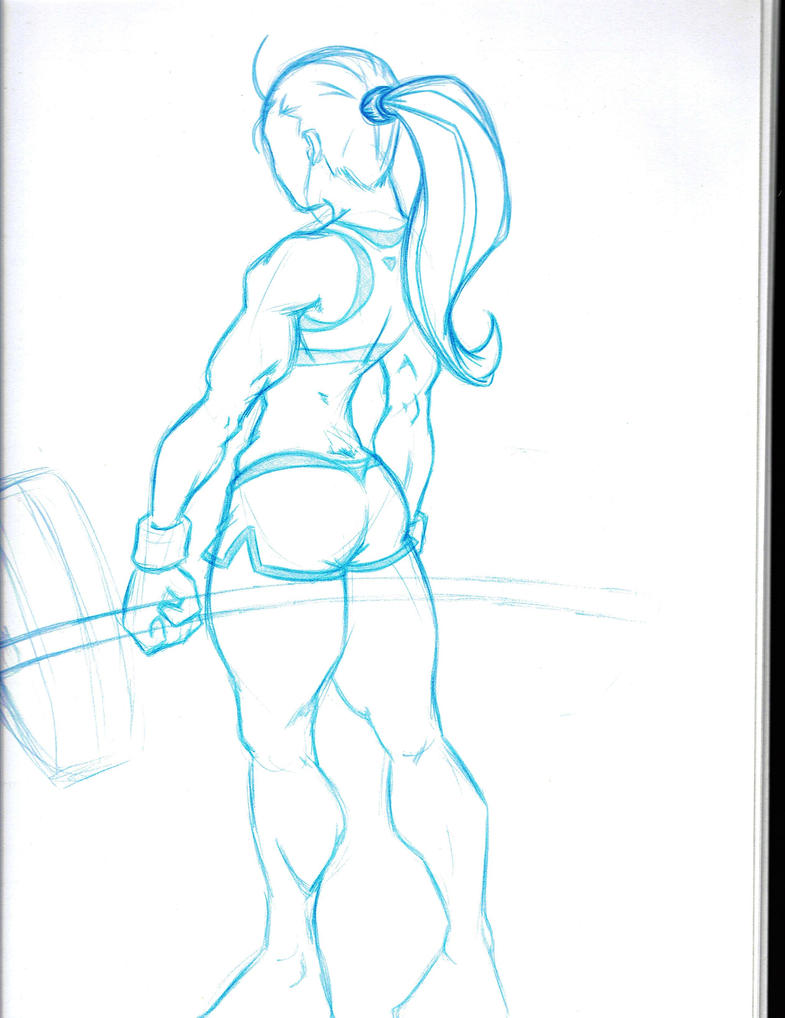 workout deadlift WIP by fwrussell
