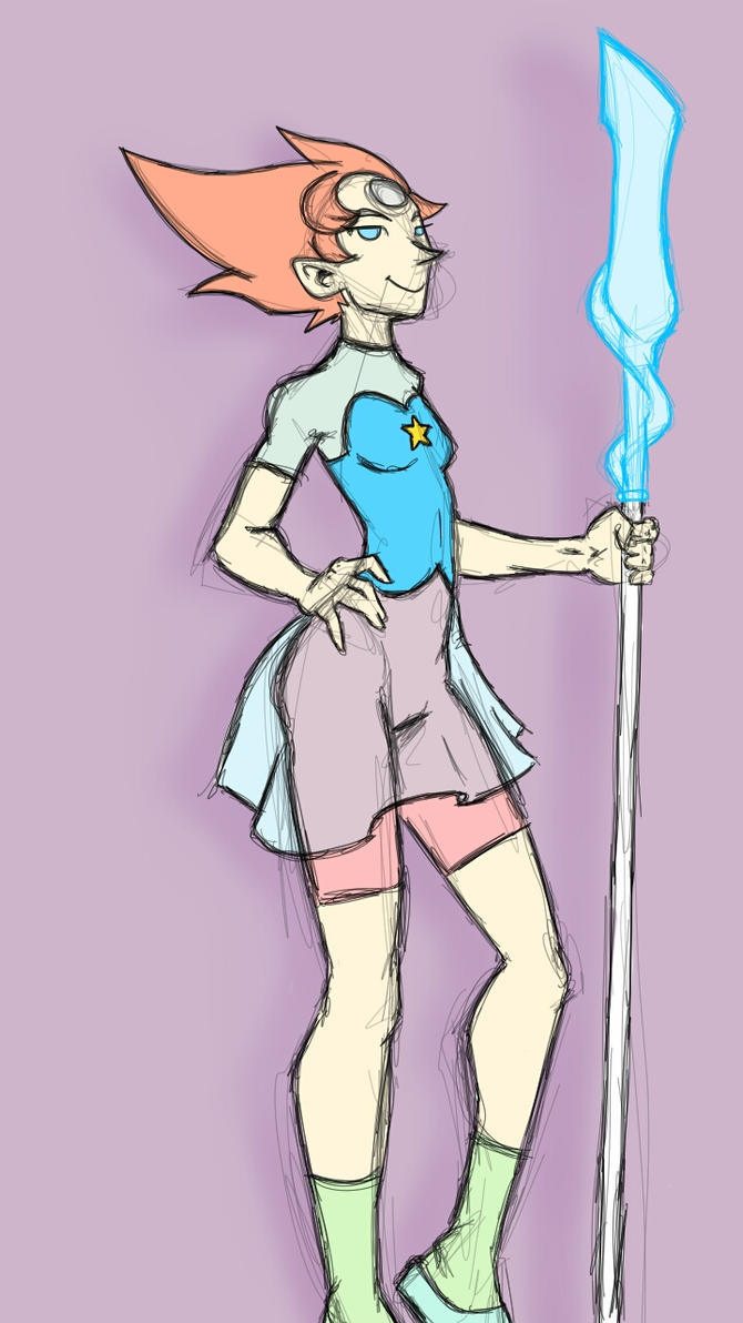 Pearl rough colors  by fwrussell