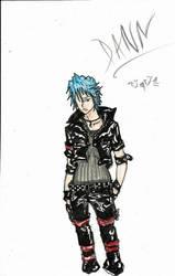 Requiem Manga Character Dan by Ryokoujin