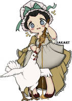 Lady Mariannina by SakArt98
