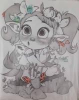 Little Fairy by SakArt98