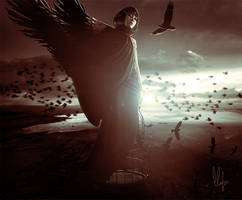 Crows and Death Scenes by badcciintra