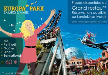 Poster Europapark by sakenplet