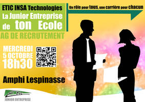 Poster Recruitement J.E. by sakenplet