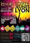 Poster 'Jeunes Lyon' Party