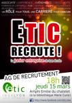 Poster Recruitement J.E.