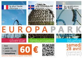 Poster Europapark 2 by sakenplet
