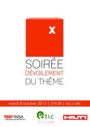 Poster TEDxINSA by sakenplet