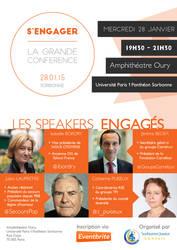 Poster Sorbonne Junior Conseil - Conference