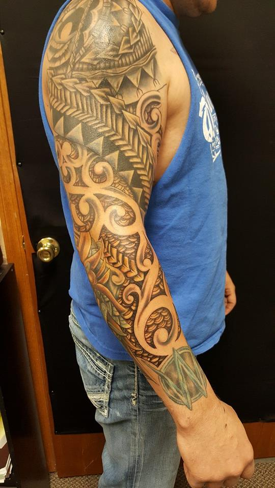 Freehand tribal by upperdecker