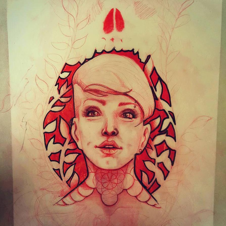 Red by upperdecker