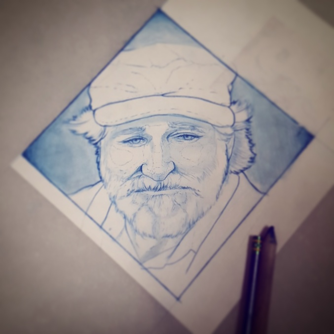 Robin Williams by upperdecker