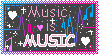 STAMP: Music is Music!! by SapphireShoelacesXD