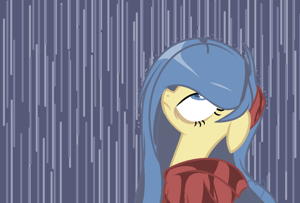 Azi and a chance of Rain by SapphireShoelacesXD