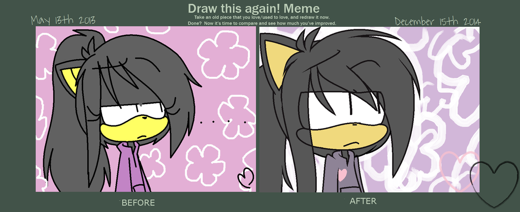 MEME: Draw What Again by SapphireShoelacesXD