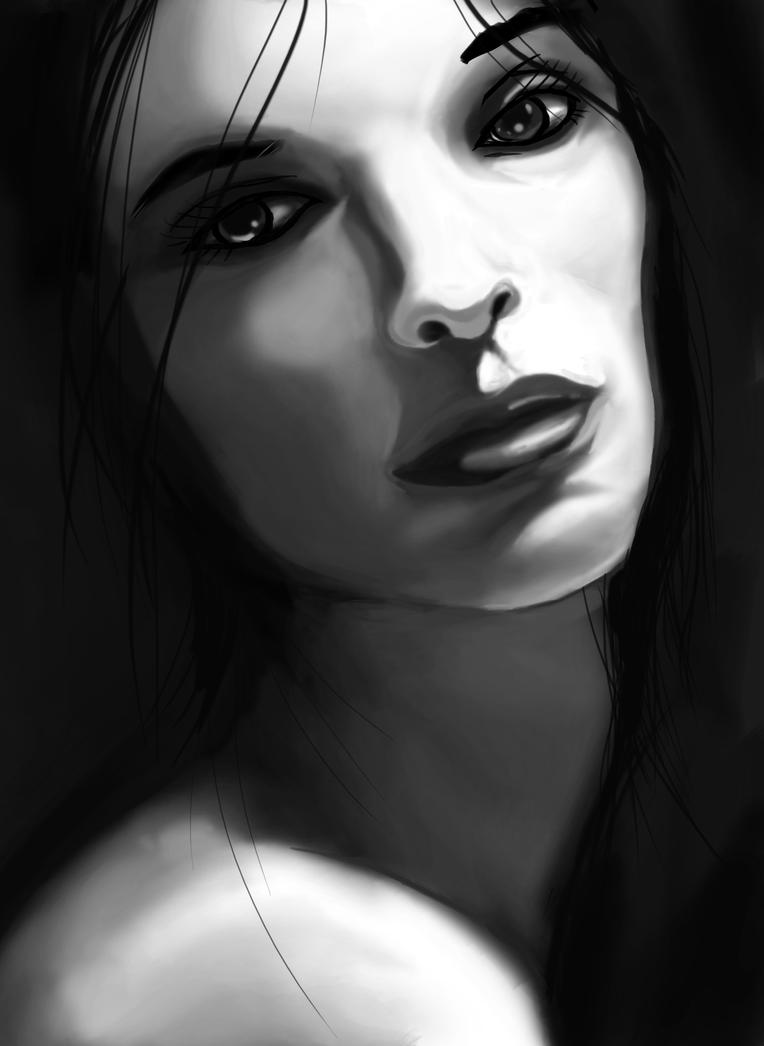 face deviantart portraits paintings drawings