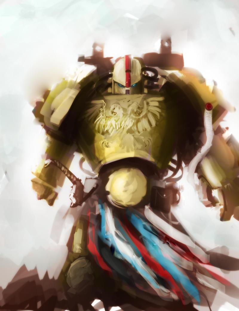 Golden Warrior by Nalro