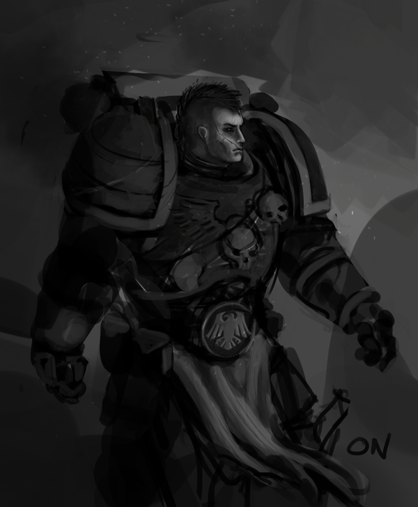 [W40K] Collection d'images : Space Marines Raven_by_Nalro