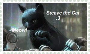 Steave the Cat stamp by Sobies516pl