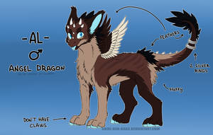 AL the Angel Dragon Reference sheet