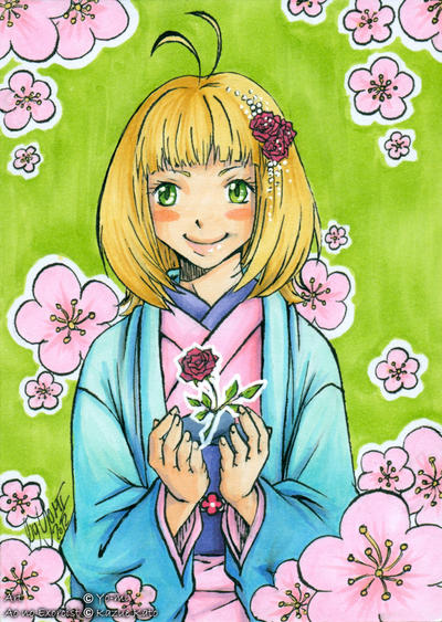 CARD: Spring Blossom by YomiNoUta