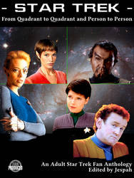 Cover for Star Trek FanFic Anthology by entallat