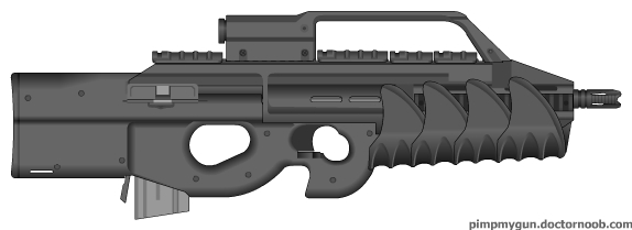 P900 assault rifle by bobafettdk