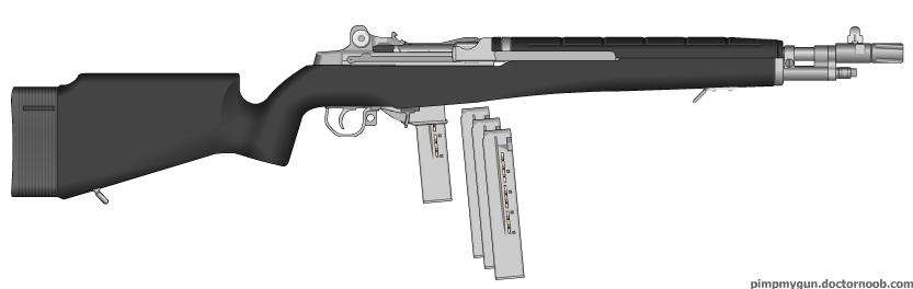 9mm M14 sport by bobafettdk