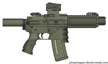 custom AR pistol by bobafettdk