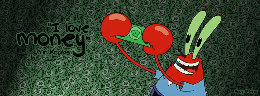 Mr Krabs In Money We Trust By Hady Sh On Deviantart