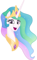 [Princess Celestia] Trollface by Negatif22