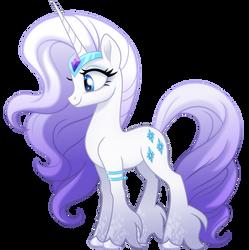 [Rarity] The White Unicorn by Negatif22