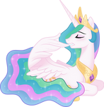 [Princess Celestia] - Preening