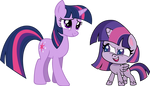 The Evolution (?) of Twilight Sparkle