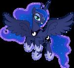 [Princess Luna] - Flying