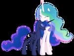 [Celestia and Luna] - Loving sisters