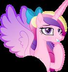 Flirty Princess Cadance by Negatif22