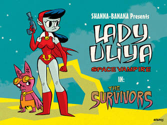 Lady Uliya Title Card by jonmcnally