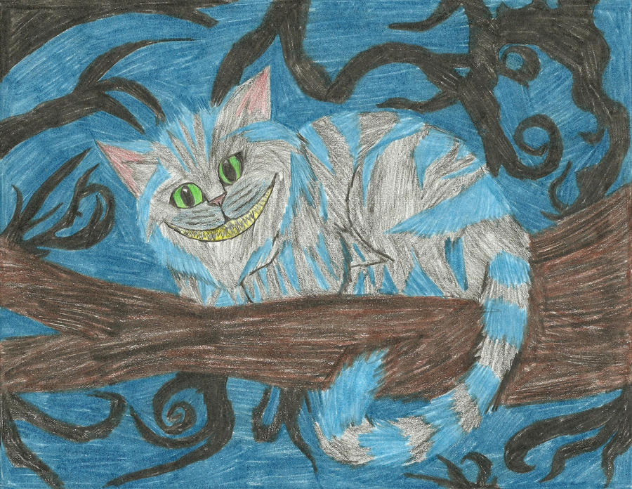 Cheshire Cat by xxleaftrailxx