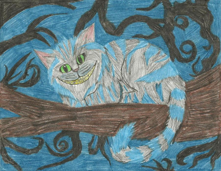 Cheshire Cat by xxleaftrailxx