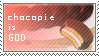 Chocopie is GOD stamp by veggiefriends