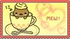 Nyanko Cappuccino stamp