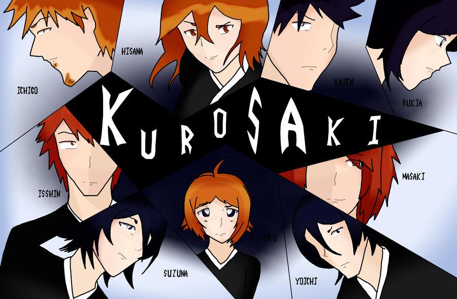 Kurosaki Family by RogueKitty