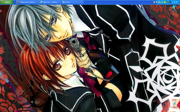 vampire knight wallpaper. + Vampire Knight Wallpaper +