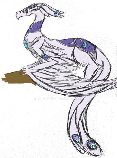 +FallenStarDusk: Harpy Dragon+ by Johara-San